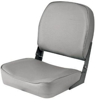 Sell Shoreline Marine Low Back Boat Seat Gray motorcycle in Henderson, Nevada, United States, for US $55.25