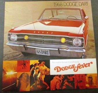 Buy 1968 Dodge Dart GTS GT 270 Dealer Sales Brochure Color Original 340 A Body Mopar motorcycle in Holts Summit, Missouri, United States, for US $36.68