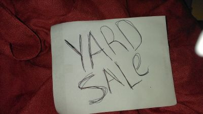 Yard Sale. Huge 5 days  Thur $ monday..10 am to 5pm