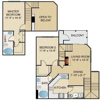 Sublease of 2 Bed Apartment from Dec to Mar - December Rent only $400