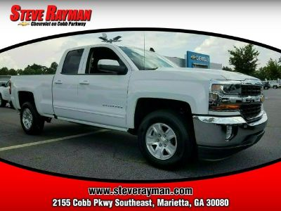 2018 Chevrolet Silverado 1500 2WD DOUBLE CAB 143.5 (Summit White)