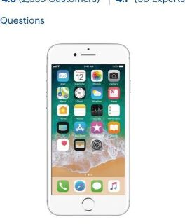 iPhone 6 or newer unlocked or AT&T