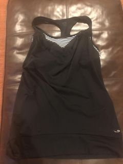 Champion size xl work out top with bra