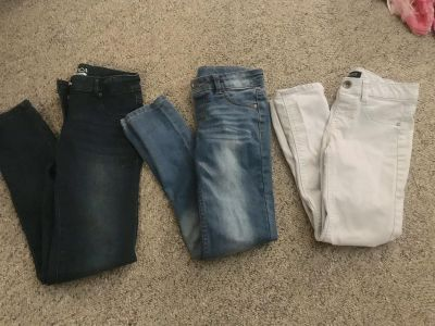 Girls new jeans lot