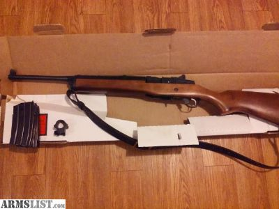 For Sale: Ruger Mini 14 .223/5.56 w/ 6 factory mags
