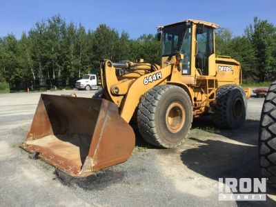 2005 John Deere 644H Wheel Loader