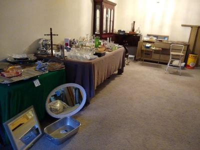Indoor estate and moving sale Thursday Friday Saturday starting 8 a.m.