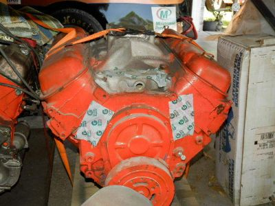 454 Chevrolet Big Block Engine