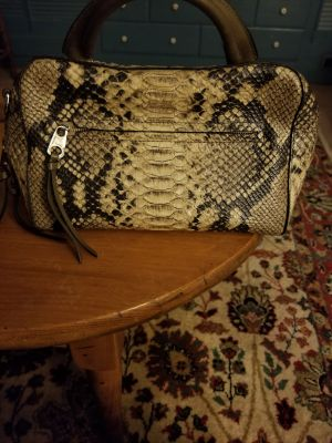 Authentic Michael Kors Leather Snakeskin Purse
