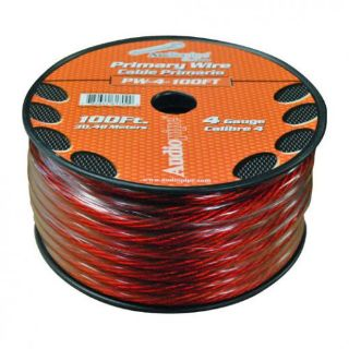 Find Power Wire 4ga 100' Red Audiopipe Pw4100rd Wire motorcycle in Hicksville, Ohio, United States, for US $56.91