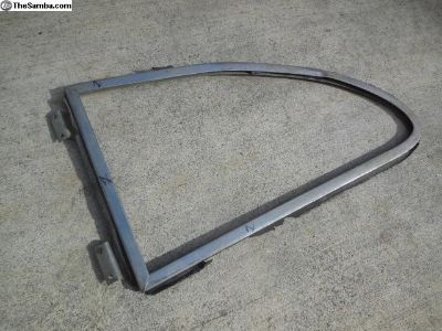 Porsche 356 Rear Vent Window Frame With Hinges