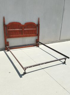 Nice Queen/Full Size Headboard with Bed Frame