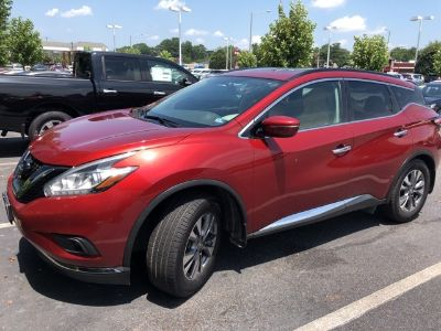 2015 Nissan Murano (RED)