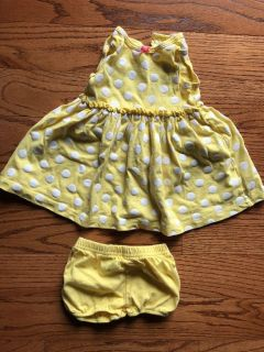 9 month dress and diaper cover