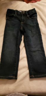 Baby gap size 3t jeans with adjustable waist.
