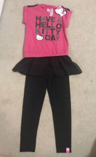 New with tags hello kitty outfit size 6/6x
