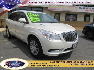 2014 Buick Enclave Leather (White Diamond Tricoat)