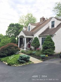 Stunning 3-Bedroom Cape Cod For Rent - 634 W. Rose Tree Road - Available August 1