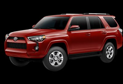 2019 Toyota 4Runner SR5 (Barcelona Red Metallic)