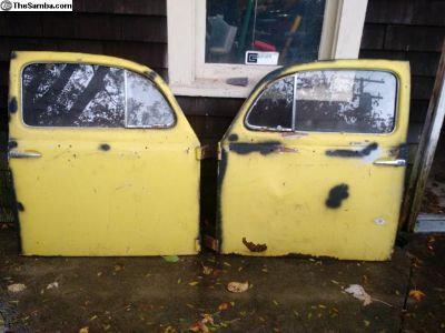 Pair of ice pick doors 56-58