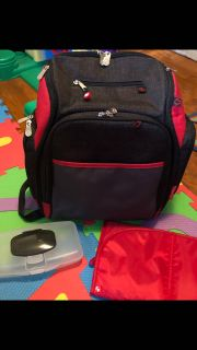 Fisher price backpack diaper bag