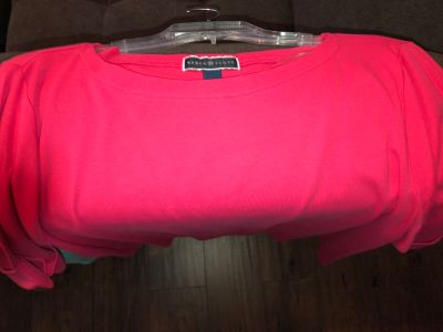 (5) brand new with tags women s XL shirts.