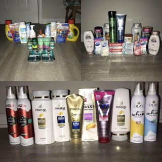 Household, Personal care, oral care HUGE LOT