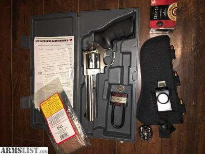 For Sale: Ruger GP100 357 stainless 6 barrel