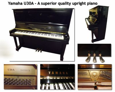 Yamaha U30A Professional Upright Pianos