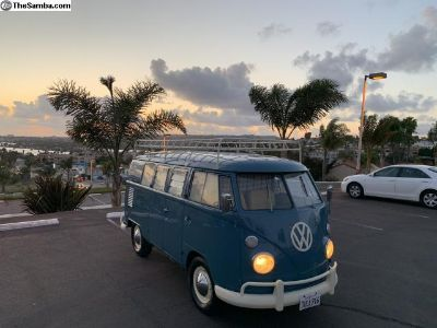 1964 VW Kombi with new Westfalia Camper Interior