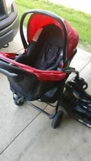 Graco stroller carseat and base