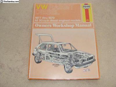 VW Rabbit Diesel Owners Workshop Manual