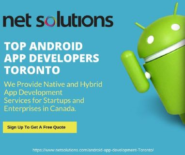 Android Mobile Application Development Services in Canada