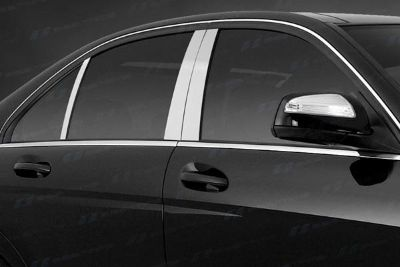 Find SES Trims TI-P-190BRUSH 08-10 Mercedes C Class Door Pillar Posts Window Covers motorcycle in Bowie, Maryland, US, for US $63.70