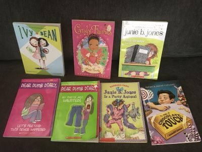 7 Chapter Books for $14 total. Pick up in Aliso Viejo Friday through Sundays.