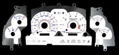 Buy 150MPH Euro Reverse Glow White Face Indiglo Gauge New For 94-95 Ford Mustang GT motorcycle in Monterey Park, California, United States, for US $24.99