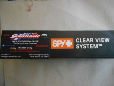 Find Spy Optic Clear View Replacement Roll-Off Films Pack of 6 Part # 050034000024 motorcycle in North Adams, Massachusetts, United States, for US $17.95