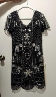 Elegant party dress for New Year's Eve or Christmas or wedding/prom