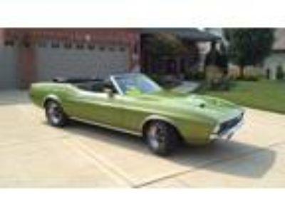 1972 Ford Mustang Convertible Green