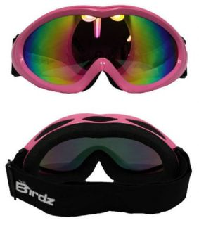 Buy BIRDZ ICE BIRD SKI GOGGLES SNOW MOBILE SNOWBOARD PINK REVO LENS motorcycle in Jacksonville, Florida, United States, for US $24.75