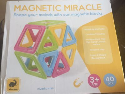 New Magnetic Miracle- Magnetic Blocks