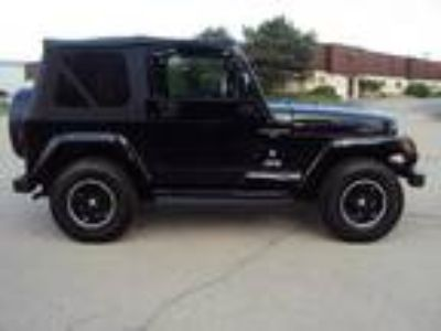 Jeep Wrangler BlackSUV 2001
