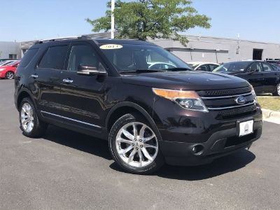 2014 Ford Explorer Limited (Kodiak Brown Metallic)