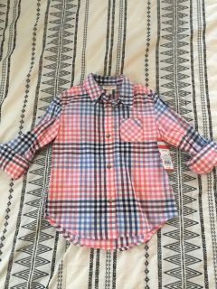 Cat and Jack shirt NWT