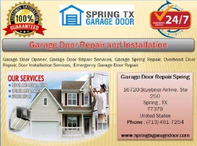 Top Garage Door Spring Repair ($25.95) Spring Houston, TX