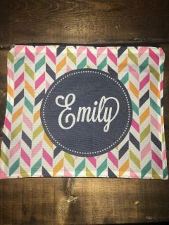 Any Emily out there??!! Fabric zipper pouch