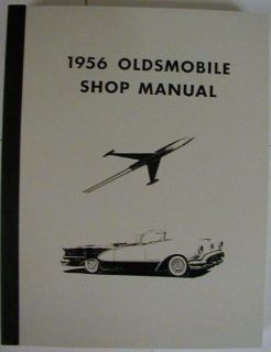 Purchase 1956 Oldsmobile Super 88 98 Series Shop Service Repair Maintenance Manual motorcycle in Holts Summit, Missouri, United States, for US $36.56