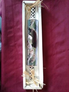 Pig rolling pin wall decor
