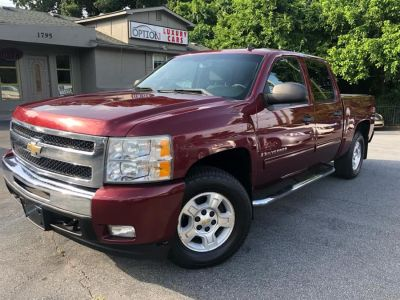 2009 Chevrolet Silverado 1500 LT (Dark Cherry Metallic)