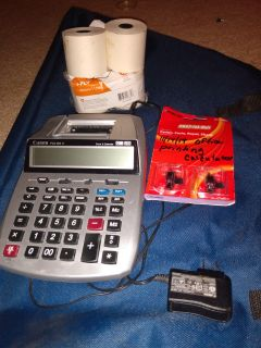 Office Printing Calculator and The Works